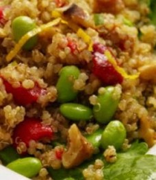 What's Cooking Wednesday? Warm Quinoa Salad with Edamame & Tarragon