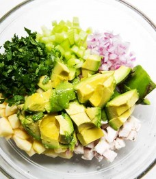 Weight Loss Program Recipe I Chicken Avocado Salad