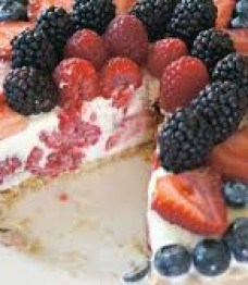 St Pete Personal Trainer Approved Triple Berry Cream Pie