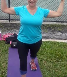 Personal Trainer St. Petersburg Fl  Case Study:  Vicki Glenn